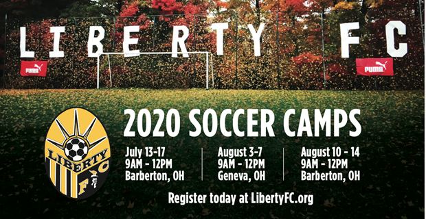 Summer '20 Soccer Camps Announced!