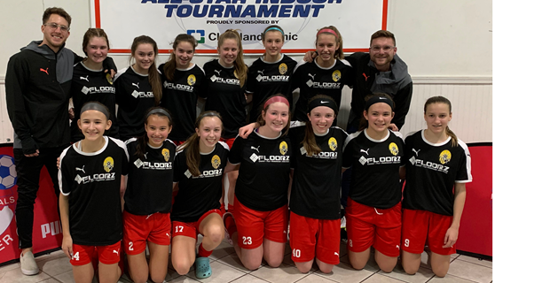 U15G are ISC All Star Tourney Champions!