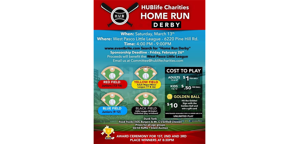 Home Run Derby Charity Event