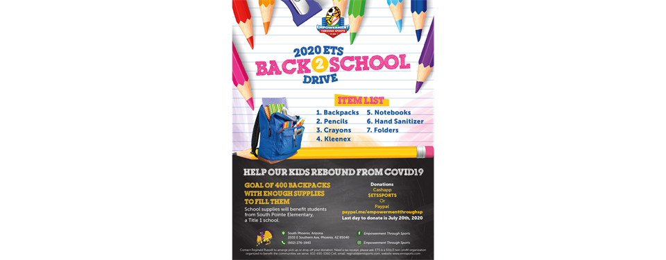 2020 ETS Backpack Drive