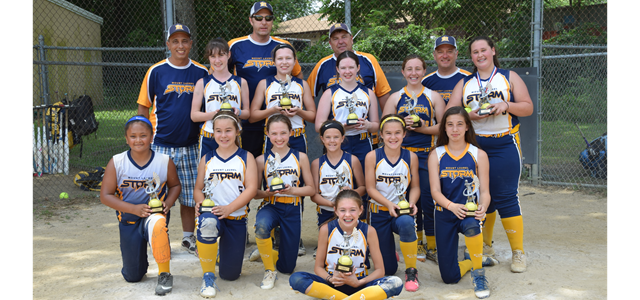 12U Storm White Wins 2019 Edgewater Summer Sizzler Tournament