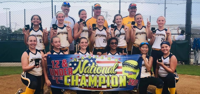 12U Storm Blue USSSA National Champions