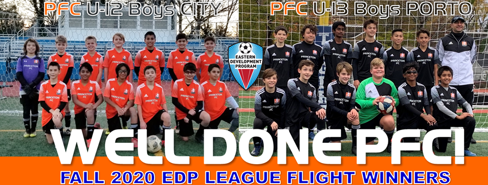 PFC Teams Finish On Top Of Their Bracket At EDP Fall League