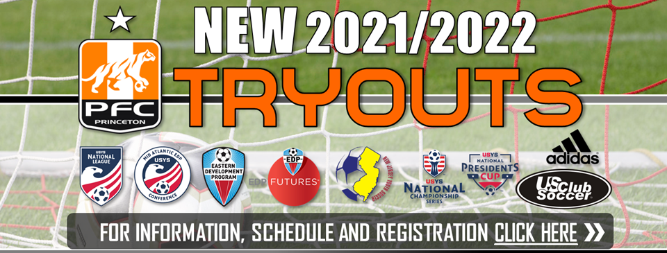 New 2021/22 Soccer Year Tryouts Announced - Register NOW!