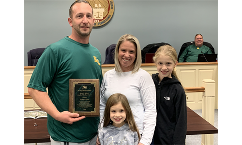 Tony Cabot Selected as 2019 Larry Meyers Memorial Coach of the Year