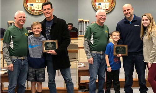 Raser and Roach Awarded 2019 Volunteer Awards