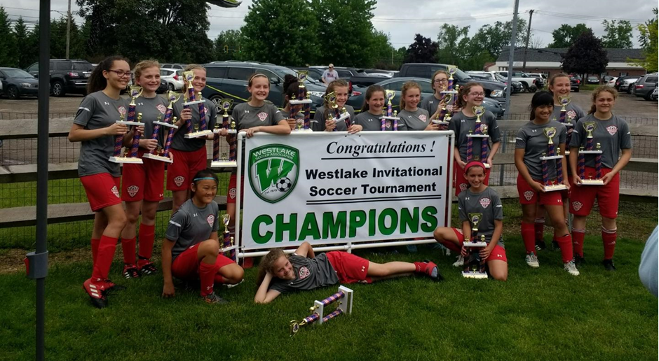 Congratulations U13 Girls - WIST 2019 Champions