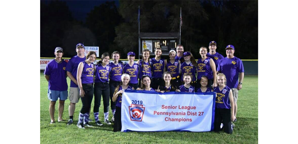 Senior Softball Wins District Title!