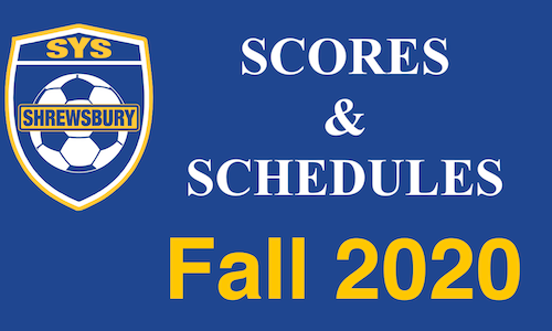 Fall 2020 Scores & Schedules