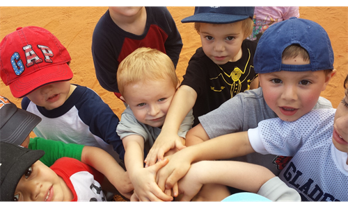 INTRODUCTION TO BASEBALL 3-4 YRS.