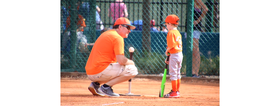 PEP TALK BEFORE COMING TO THE PLATE