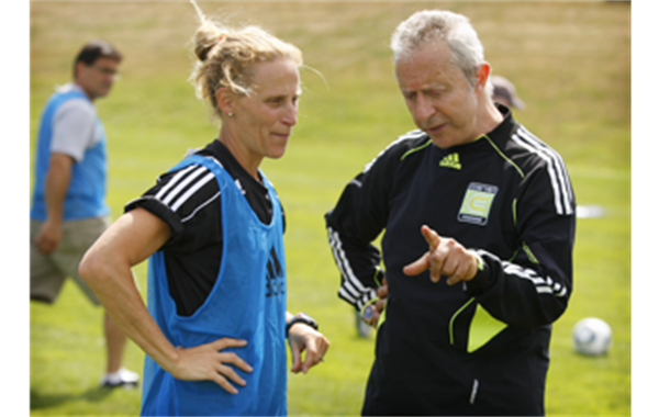 Kristine Lilly and Coerver Coaching