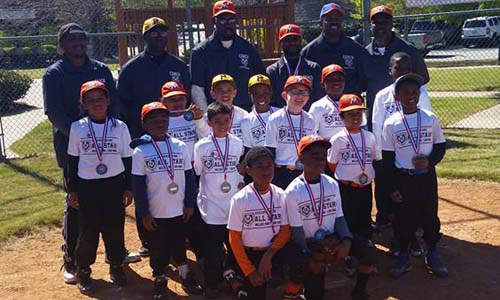 Step Up to the Plate 8U All Stars win 2nd place