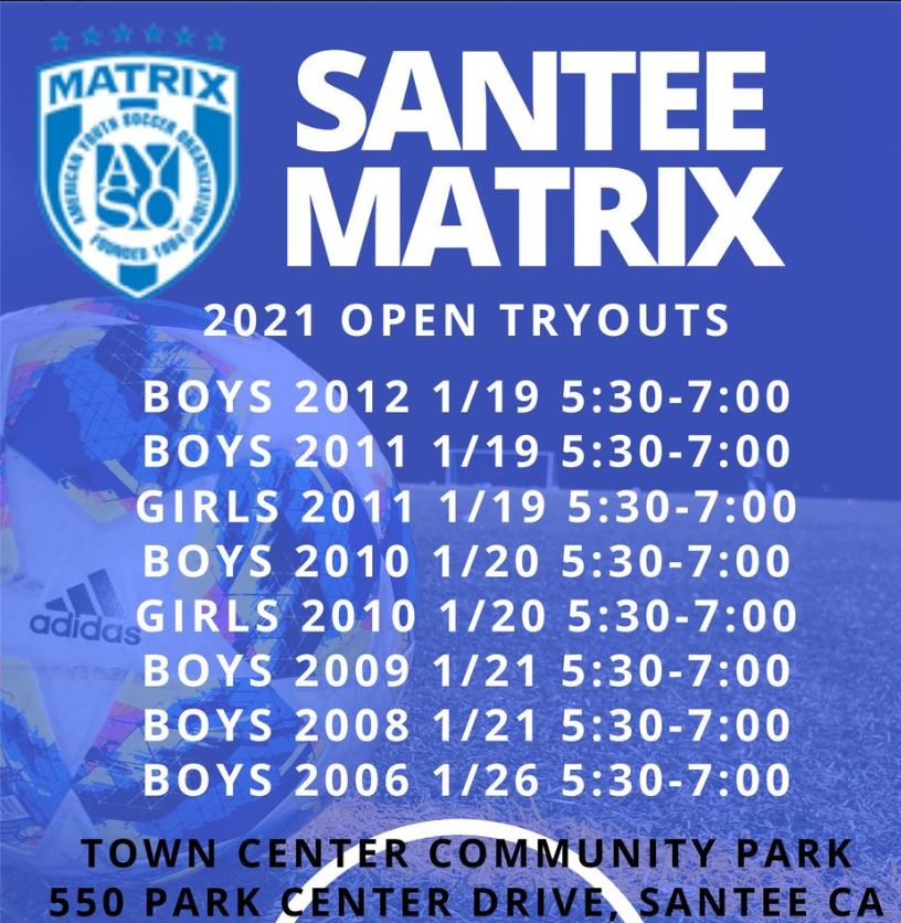 Tryouts 2021