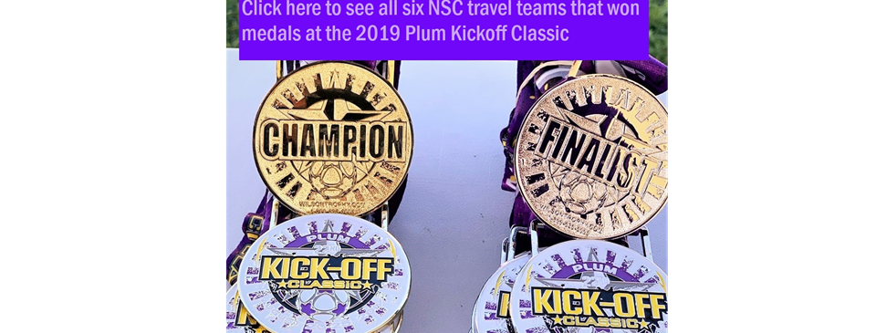 Six NSC Travel Teams Bring Home Medals from the Plum Kickoff Classic Tournament