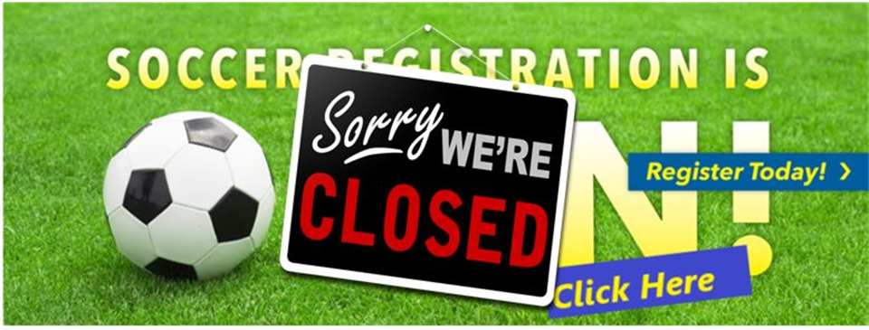 Spring 2021 Registration Now Closed!!!