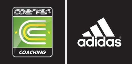 Coerver Adidas Logo Black