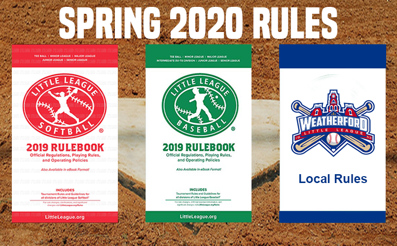 2020 Spring Rules