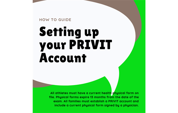 How to Set up Your PRIVIT Account