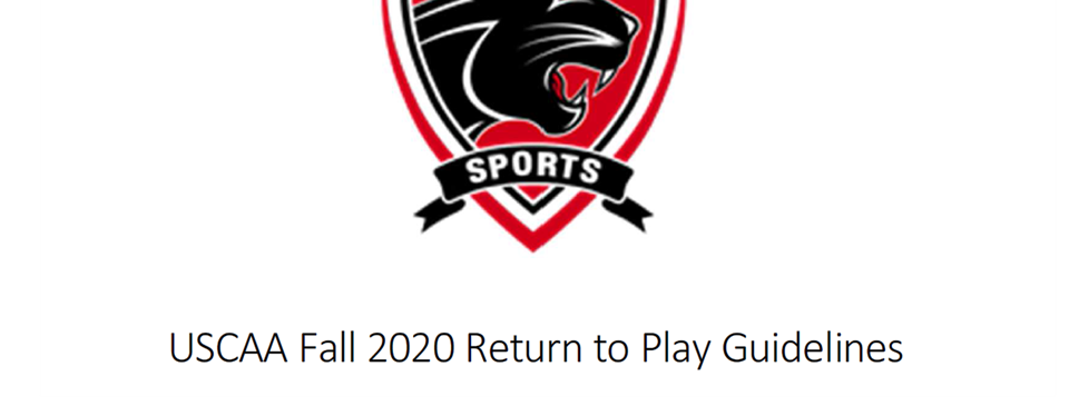 Fall 2020 Return to Play Guidelines