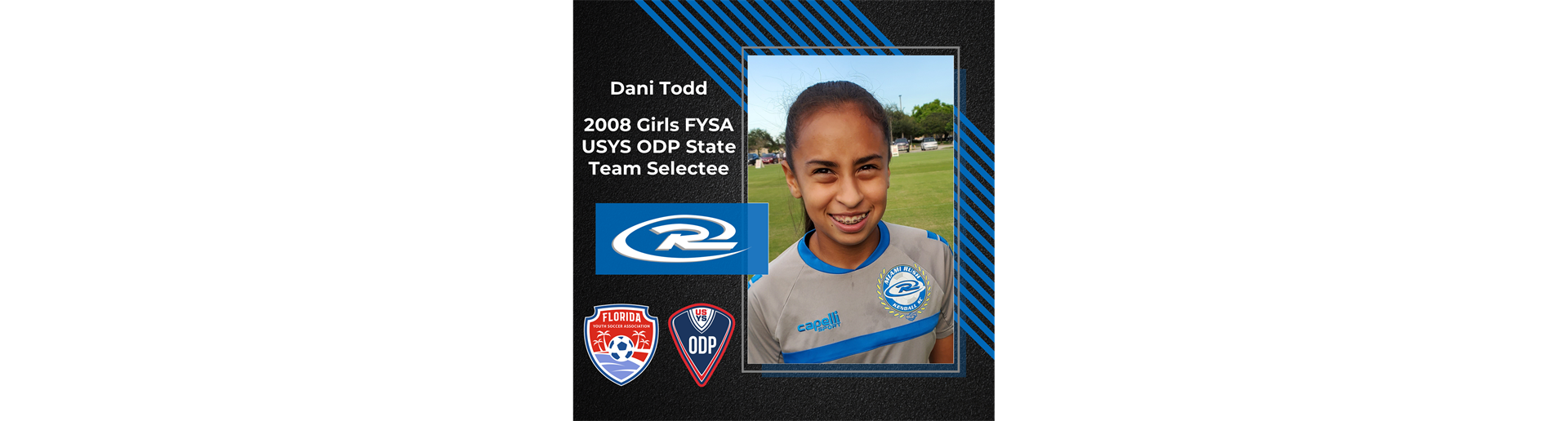 Dani Todd Selected to 2008 Girls ODP Florida State Team