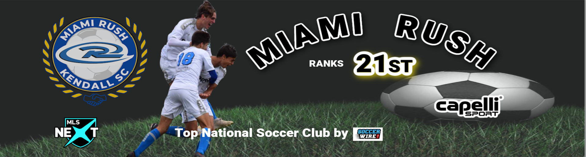 Miami Rush Ranked 21th in US