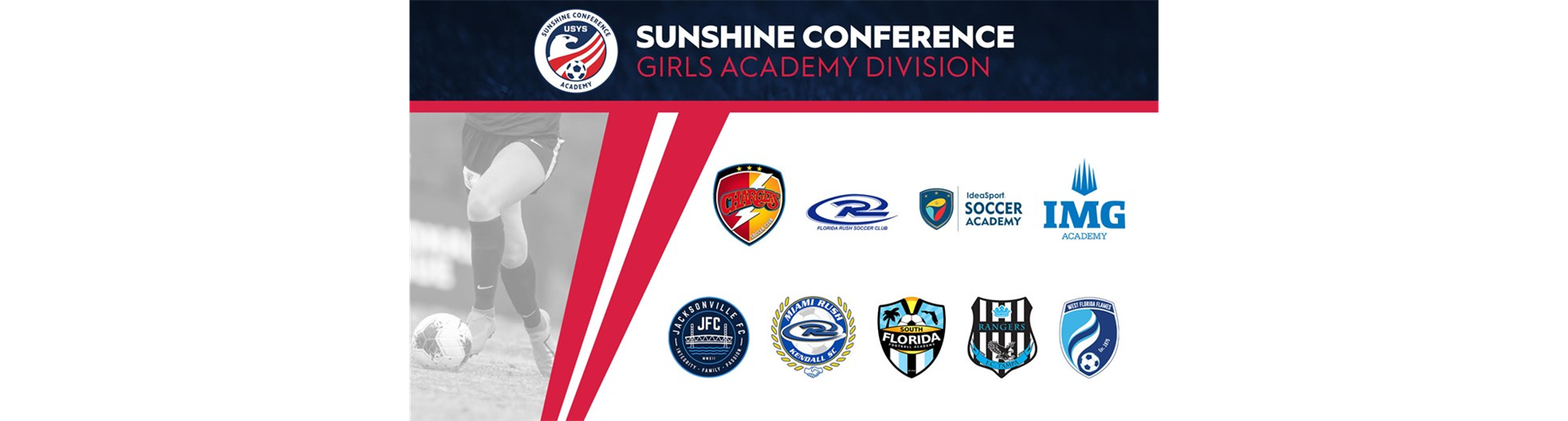 USYS Sunshine Conference Girls Academy Division to debut in 2021-22 season