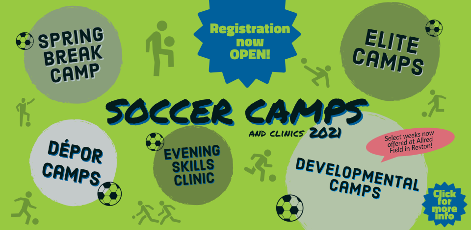 Camp registration is OPEN!