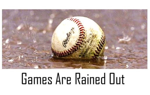 5/28/19: All games are CANCELLED