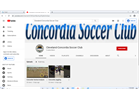 Concordia Launches YouTube Channel