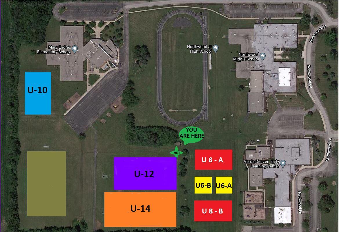 WUSA Field Map 2021