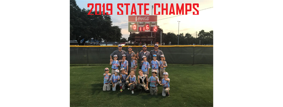 2019 STATE CHAMPS