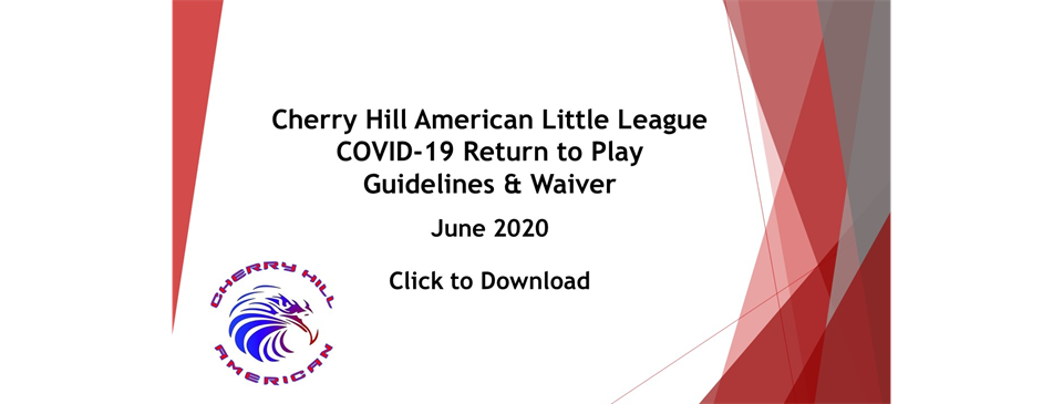 CHALL COVID-19 Return to Play Guidelines & Waiver