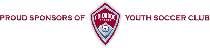 Proud Sponsors Of Colorado Rapids Youth Soccer Club